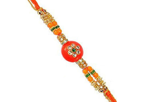 Colorful form Rakhi
