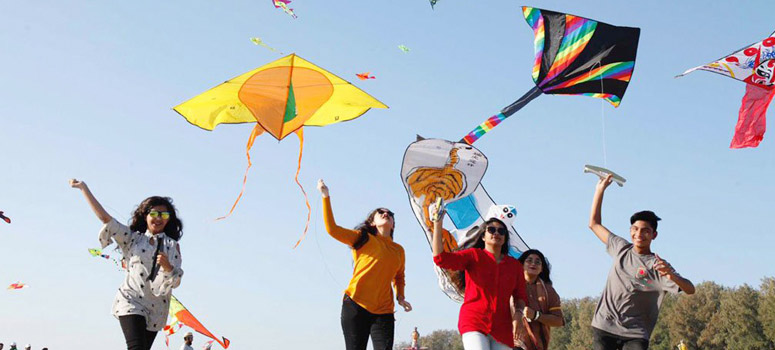 Kite Flying Tradition in Jammu