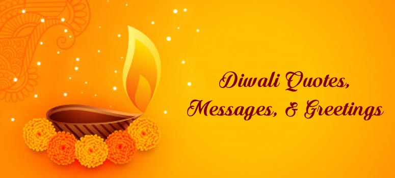 Diwali Quotes, Messages, & Greetings